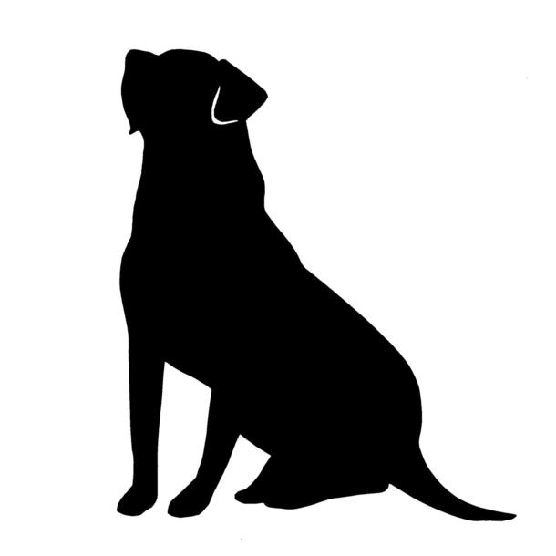 black labrador silhouette at getdrawings com free for labrador retriever images clip art Black Labrador Retriever Clip Art