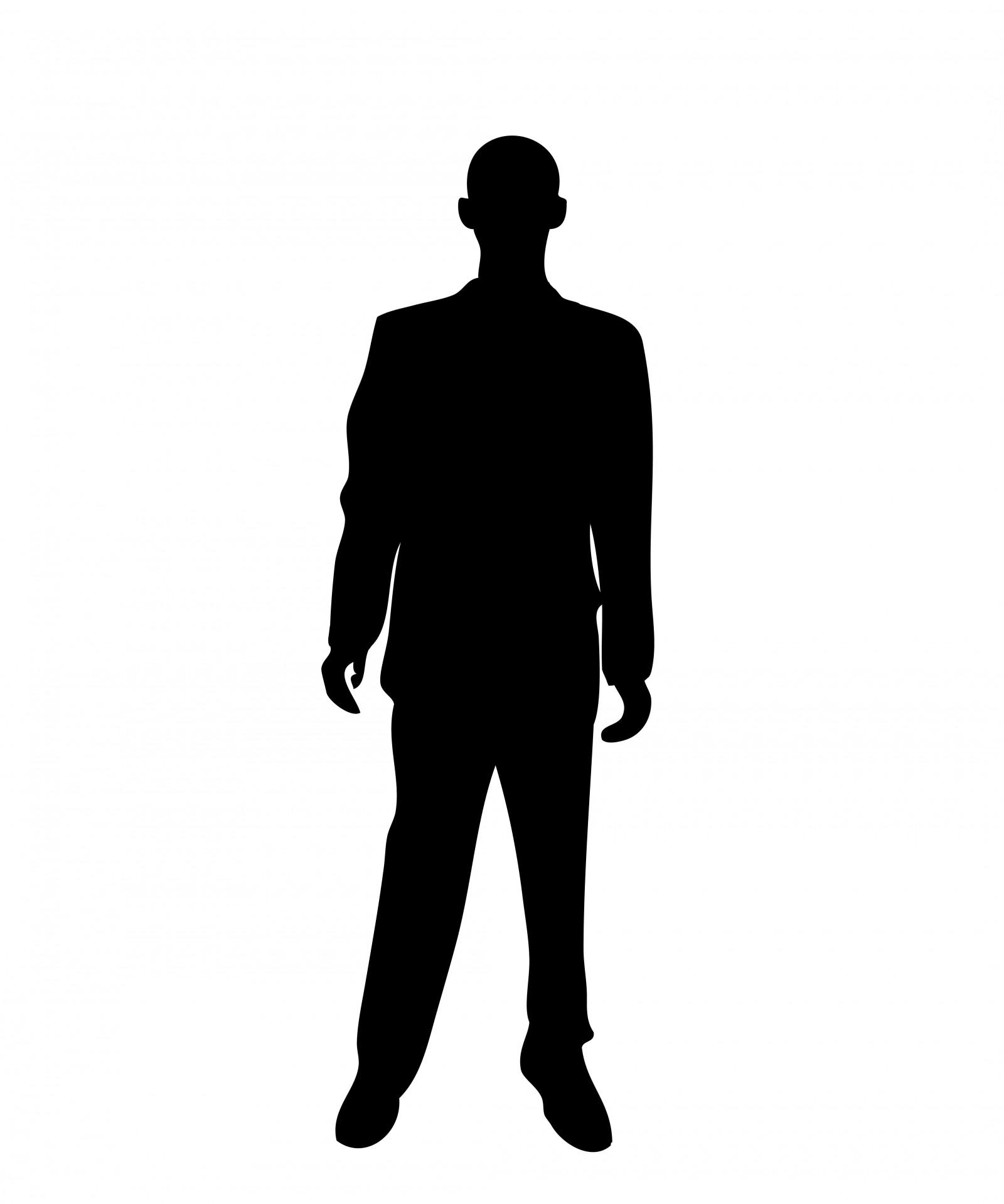 1600x1919 Business Man Black Silhouette Free Stock Photo
