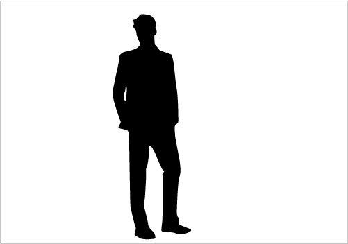 501x352 Man Silhouette Silhouette Graphics Man Silhouette