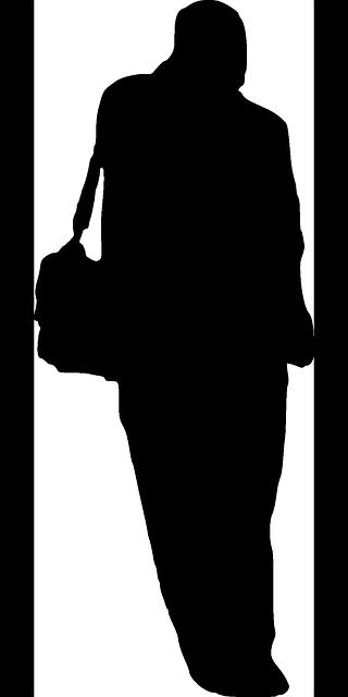 320x640 Black, People, Man, Silhouette, Person, Human, Men, Fat