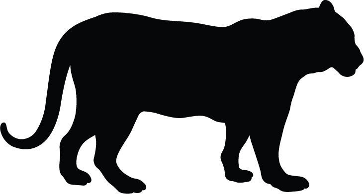 black panther silhouette at getdrawings com free for personal use