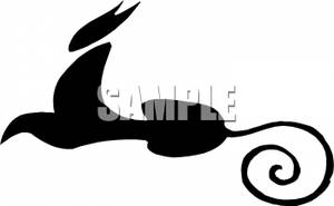 300x185 Of A Black Panther Clipart Picture