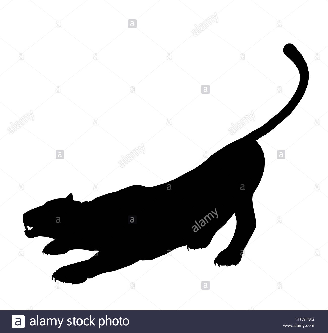 1300x1320 Black Panther Cut Out Stock Images Amp Pictures