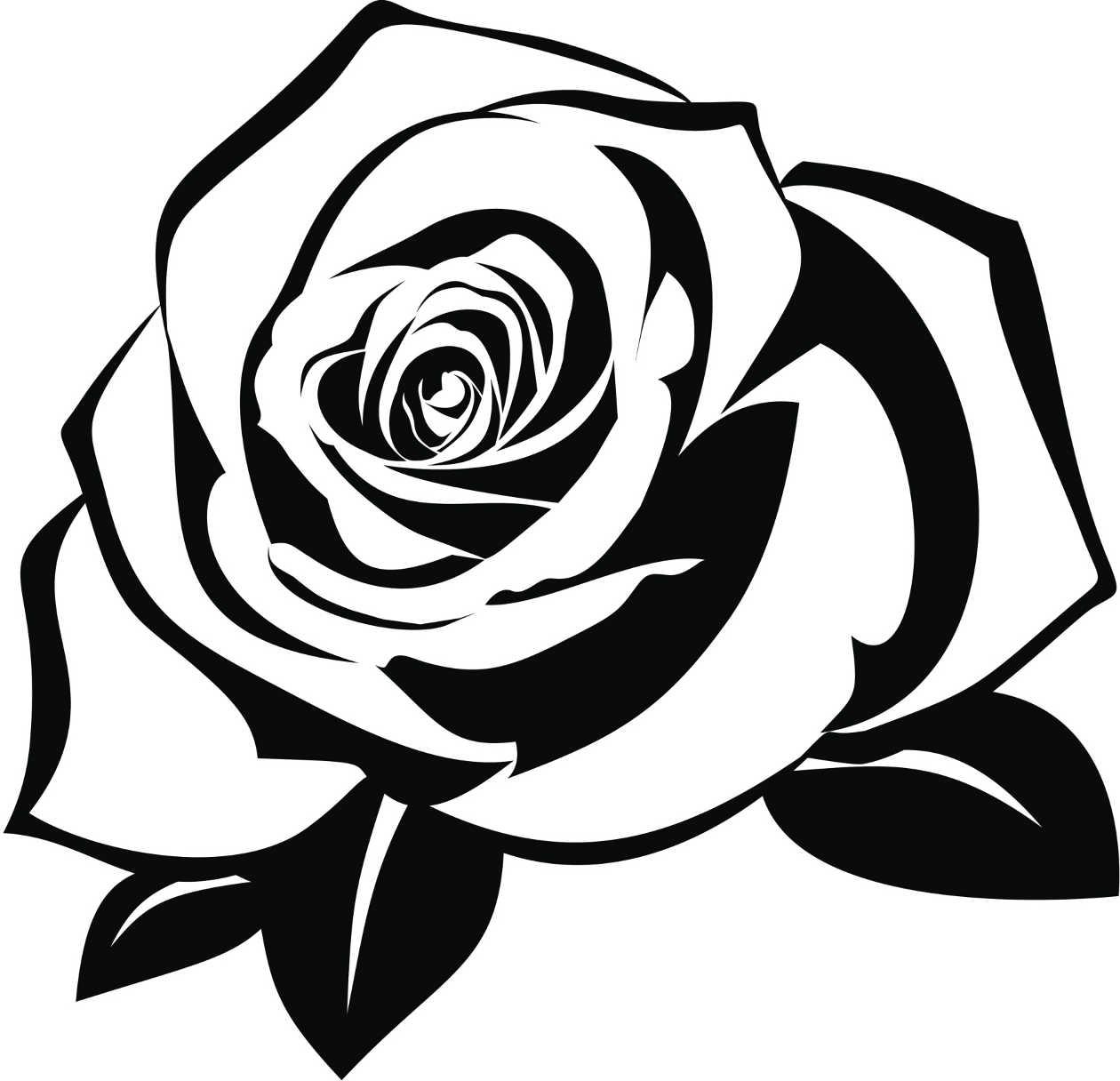 6e80b88afe Rosas Para Colorear Tatoo dibujos para colorear de rosas bonitas ...