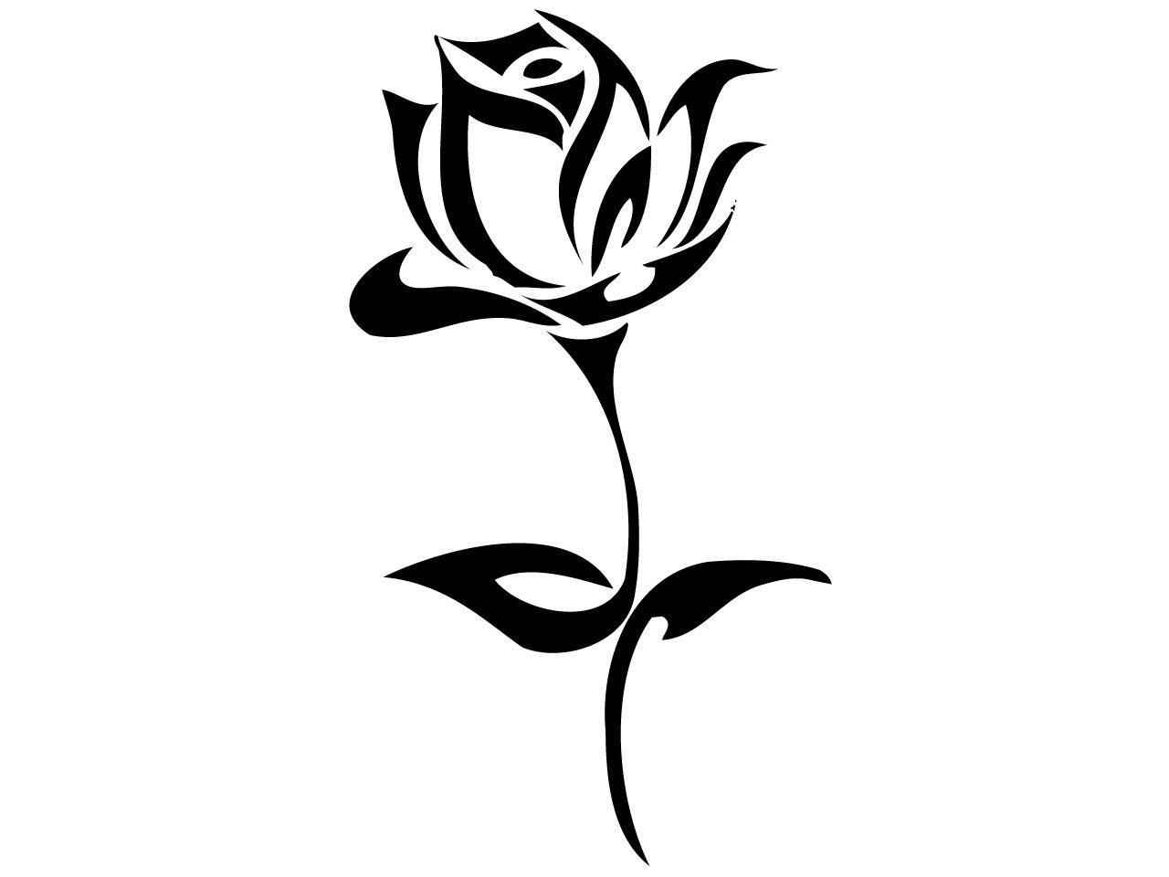 1280x960 Vine Clipart Black Rose 4033895
