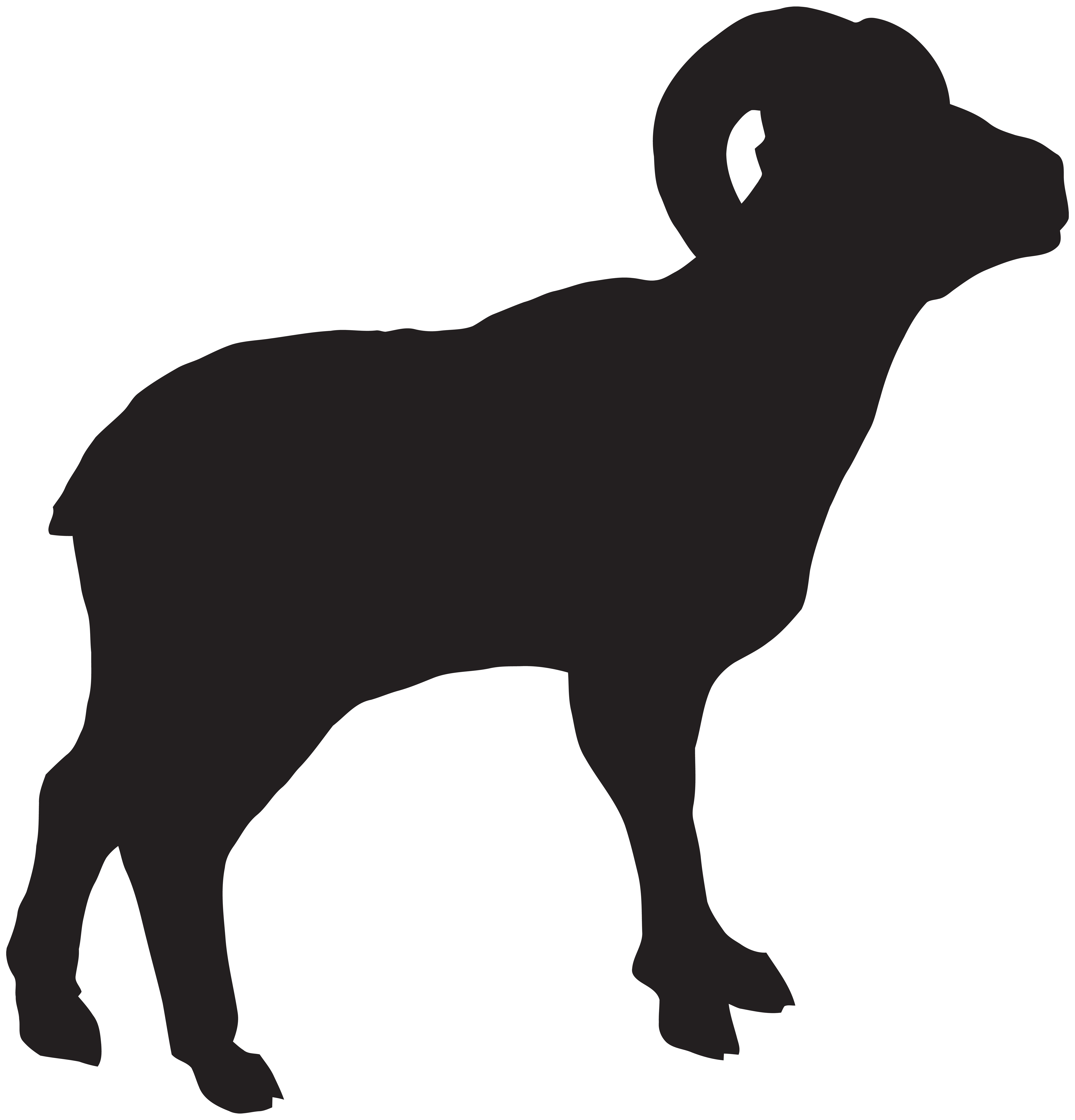 black sheep silhouette at getdrawings com free for personal use rh getdrawings com black and white sheep clipart free baa baa black sheep clipart