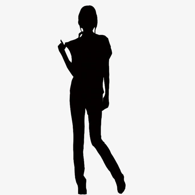 650x651 Lonely Back Black Silhouette, Lonely Back, Black, A Person Png