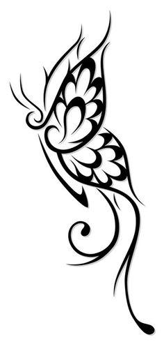 236x493 Simple Tribal Heart Tattoo Tattoos Design Ideas
