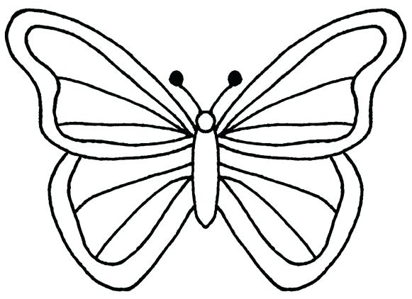 581x422 Outline Butterfly Outline Butterfly Tattoos Black Butterfly Tattoo