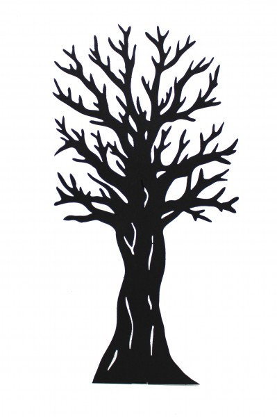 399x600 2d Tree Silhouette Scenery Theming Hire Event Prop Hire