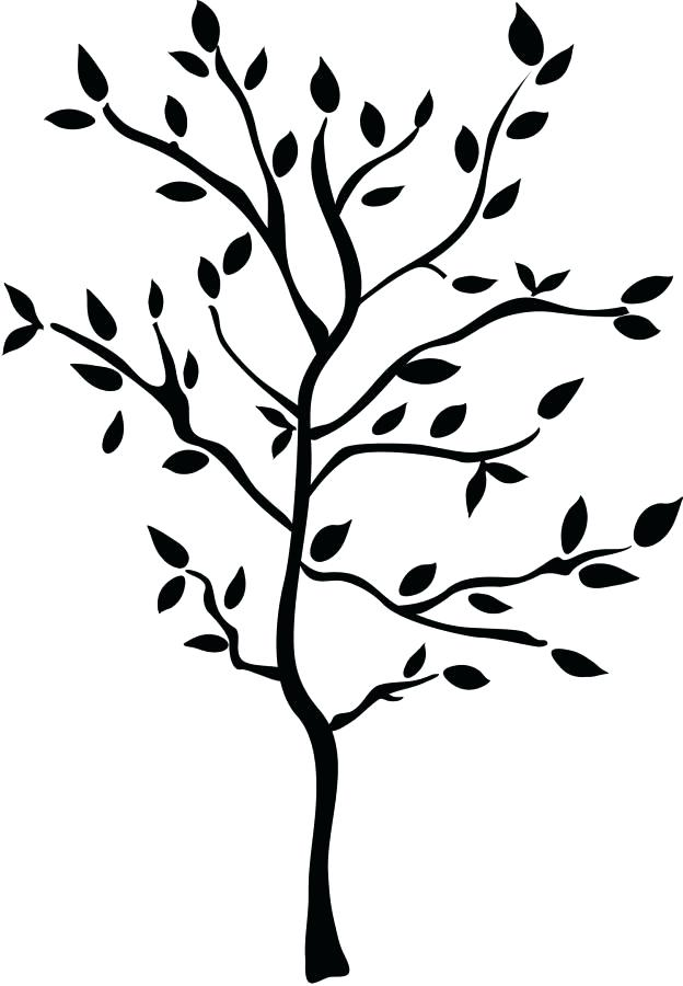 624x900 Tree Silhouette Wall Decal Together With Tree Silhouette Wall