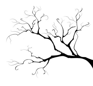 380x351 Barren Black Tree Clipart With Transparent Background Collection