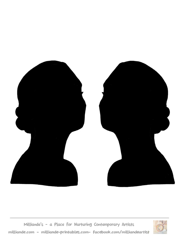 618x824 Free Female Silhouette Pictures, Hanslodge Clip Art Collection