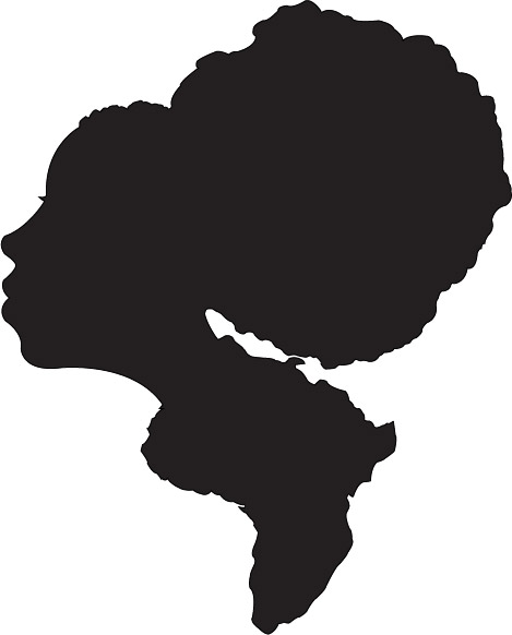 469x582 Clip Art Afro Clipart Collection
