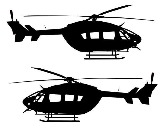 640x488 Uh 60 Blackhawk Silhouette 4647270