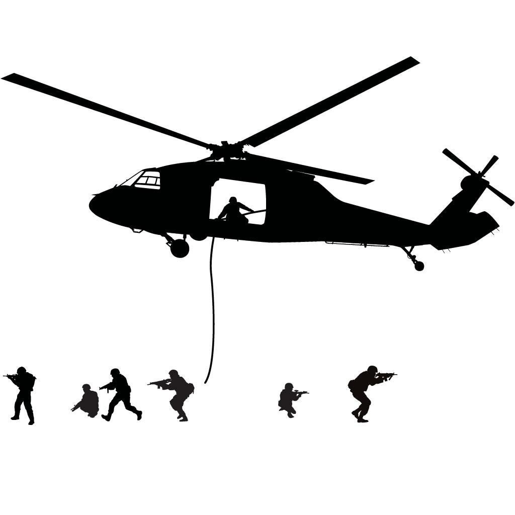 1024x1024 Unique Army Helicopter Silhouette Size Cdr