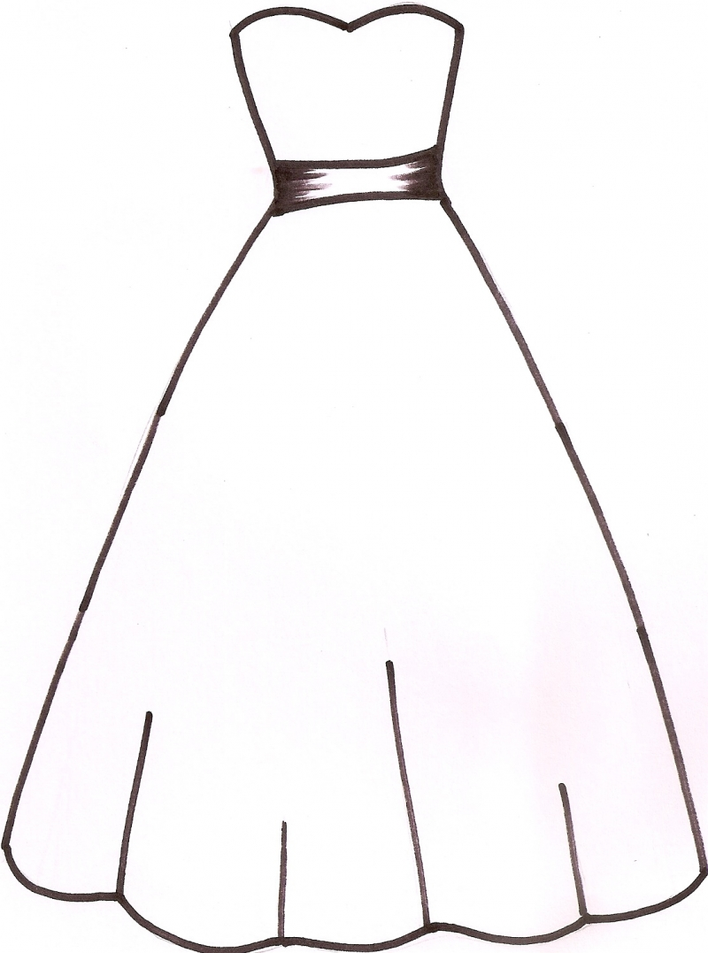 800x1077 Free Blank Dress Cliparts, Hanslodge Clip Art Collection