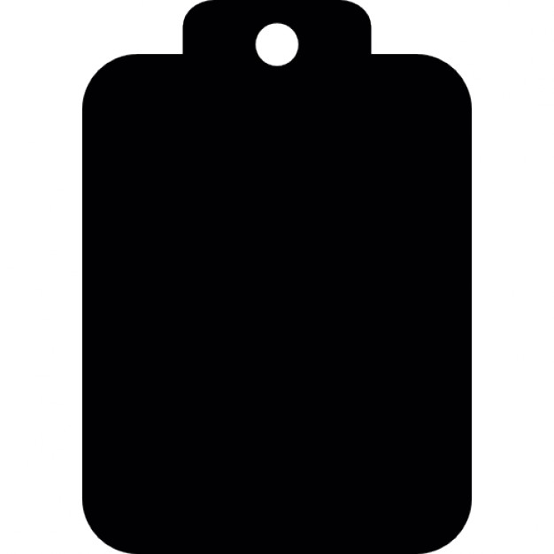 626x626 Blank Clipboard Silhouette Icons Free Download