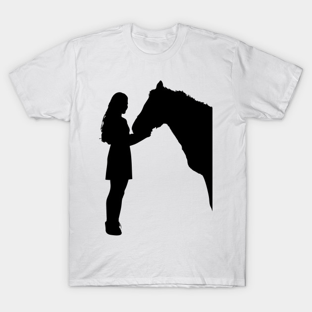 630x630 Limited Edition. Exclusive Girl And Horse Silhouette 2