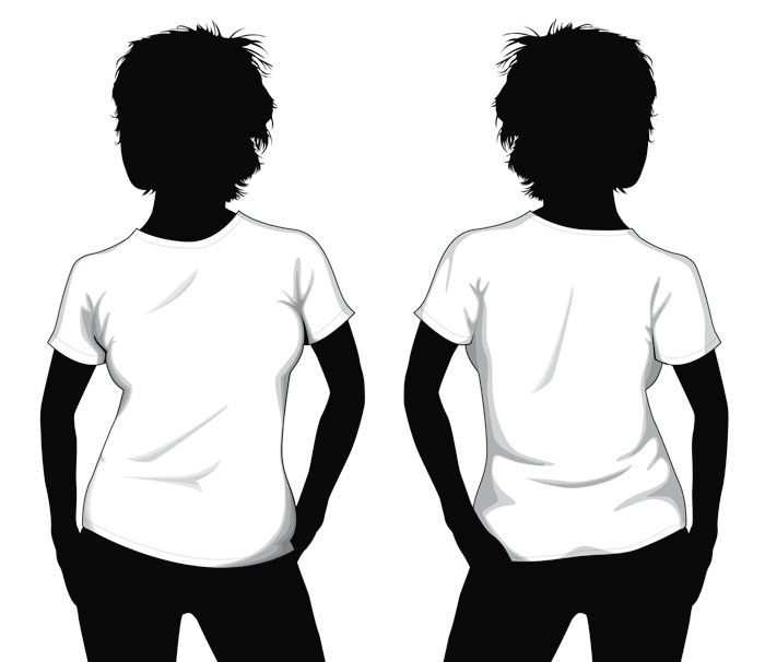 700x606 Blank T Shirt Template Blank T Shirt Template For Girls