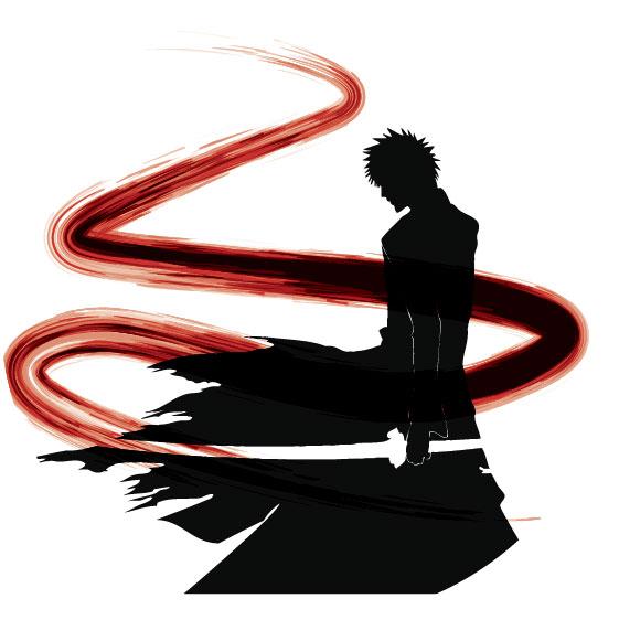 561x562 Bleach Ichigo Silhouette By Marekmaurizio