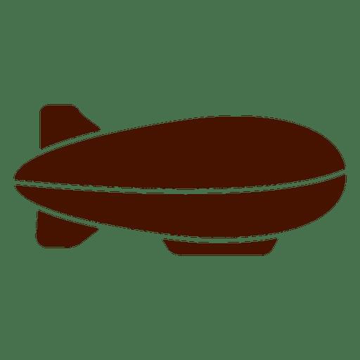 512x512 Dirigible Airship Pack Silhouette