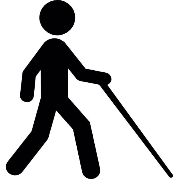 626x626 Blind Walking Icons Free Download