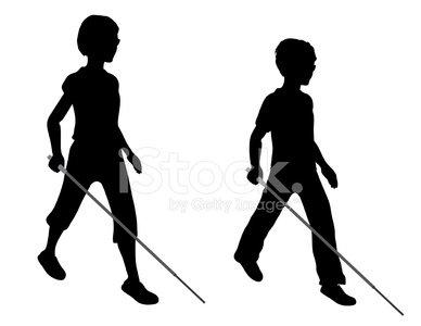 388x300 Blind Children Stock Vectors