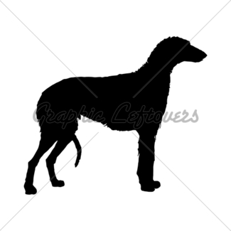325x325 The Black Silhouette Of An English Bulldog Gl Stock Images
