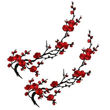 355x355 Cherry Blossom Clipart Red