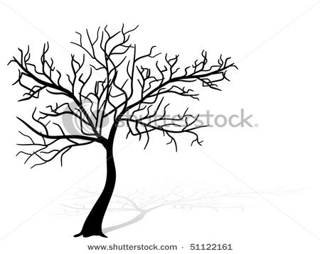 450x358 The Way I Used To Draw Trees When I Was A Child. No Leaves, Just