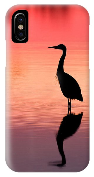 320x600 Heron Silhouette Photograph By Mike Dunn