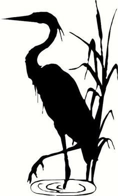 236x390 Blue Heron On Silhouette, You Left Me And Birds