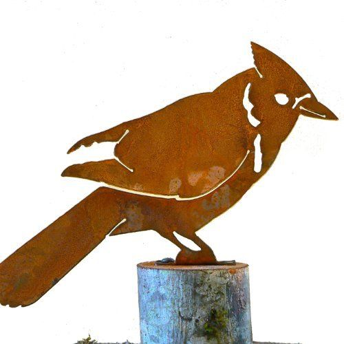 500x500 Elegant Garden Design Elegantb720 Blue Jay Bird Silhouette Ebay