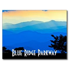 236x236 Sunrise Over Blue Ridge Mountains Scenic Overlook Stock