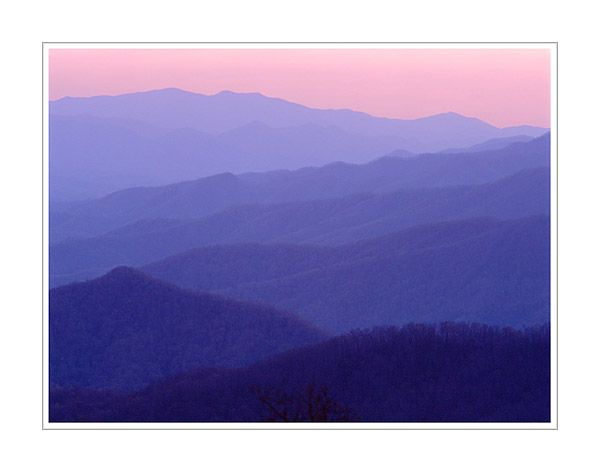 600x472 Sunset On The Blue Ridge Parkway Pictures Worth Revisting