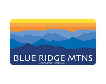340x270 Blue Ridge Mountains Etsy