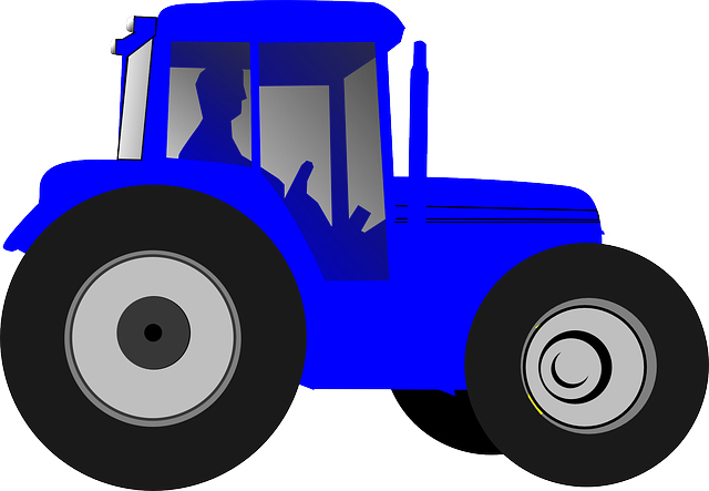 640x443 Free Photo Drive Blue Big Farmer Tractor Silhouette