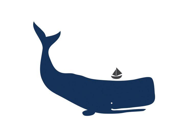 Blue Whale Silhouette