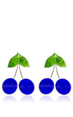 150x240 Blueberry Earrings By Silhouette Moda Operandi