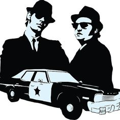 Blues Brothers Silhouette