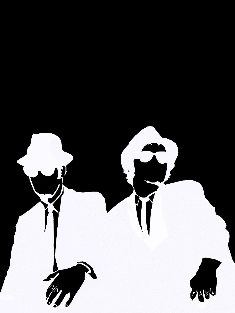 750x1000 Blues Brothers Graphic T Shirt By Begrotesque Redbubble