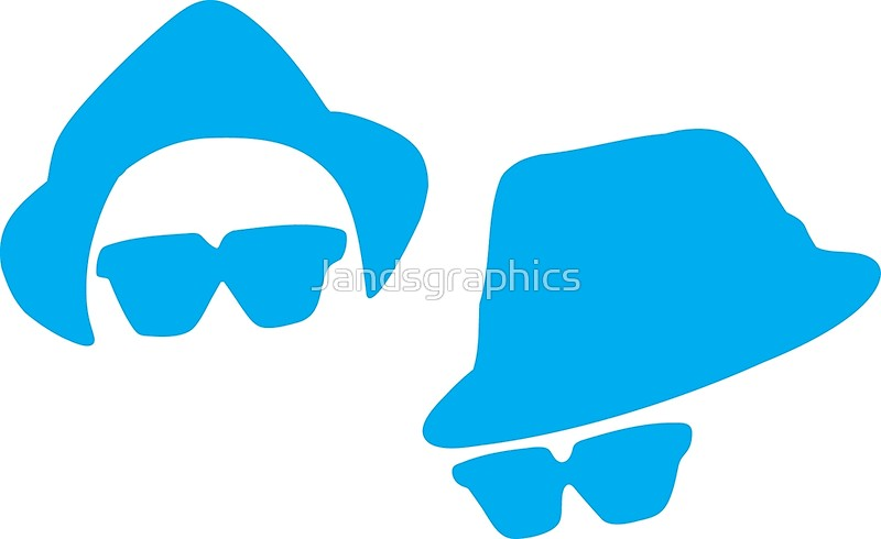 800x490 Blues Brothers Silhouette Retro Posters By Jandsgraphics Redbubble