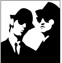 209x212 Blues Brothers Stencil By !six Hundred On Stencils