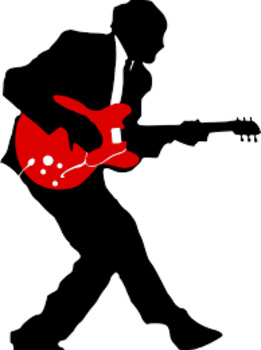 261x350 No Guitar Blues Word Detective Word Attack And Figurative Language