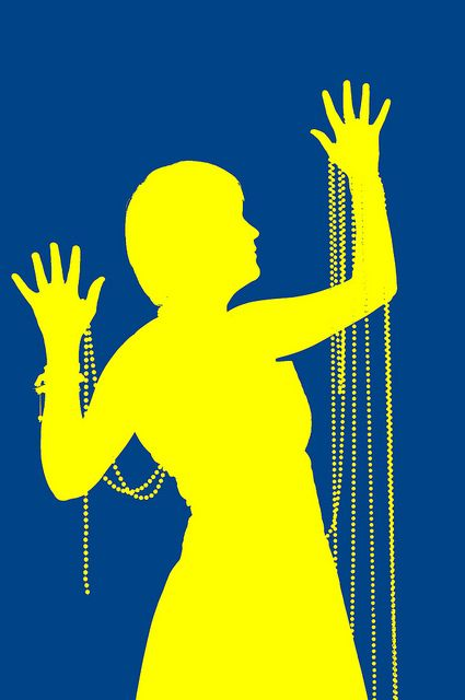 425x640 Silhouette In Yellow And Blue Silhouettes And Blue Yellow
