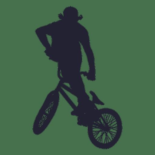 512x512 Bmx Sport Silhouette