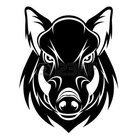 450x450 Wildschwein Kopf