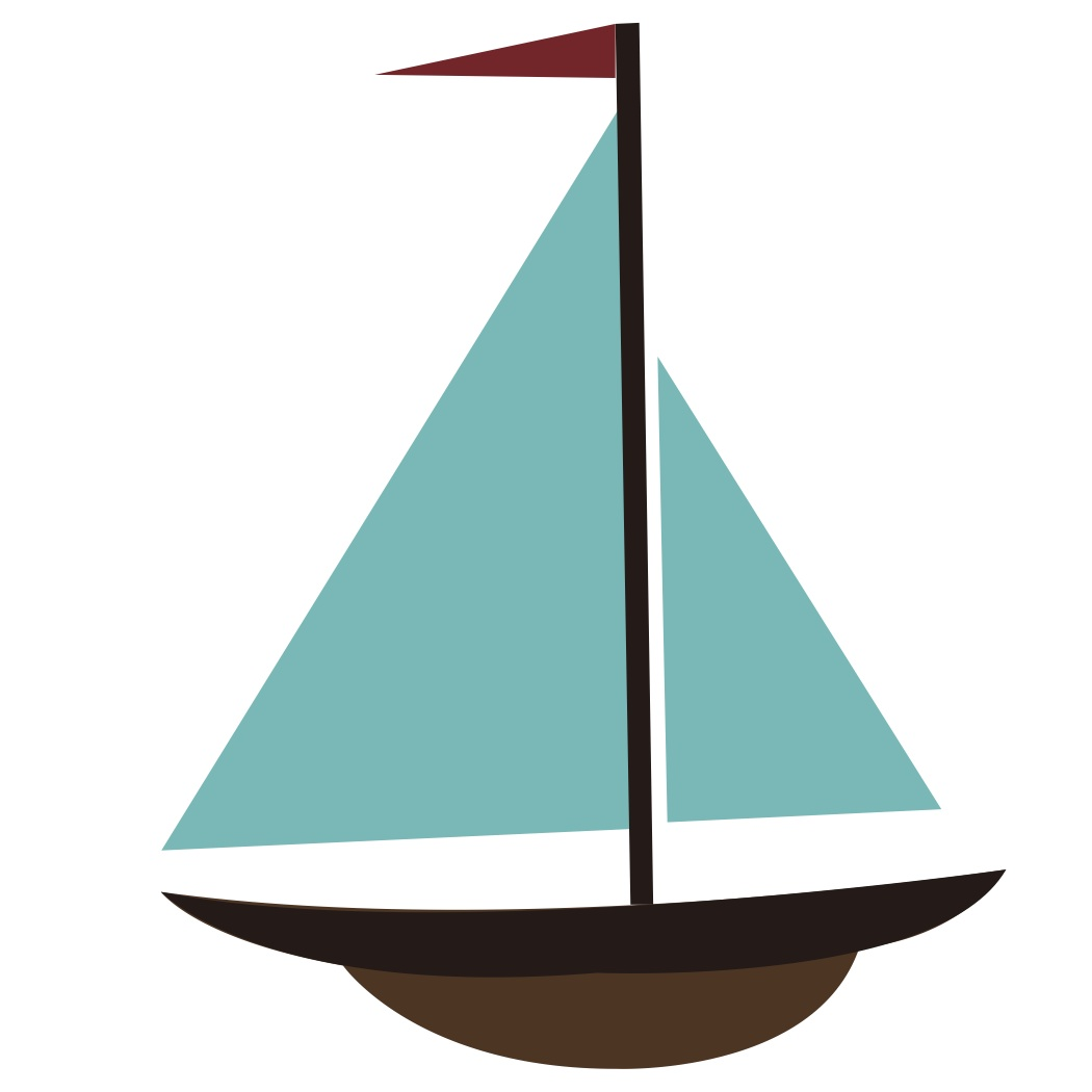 1050x1050 Sailboat Clipart Silhouette Collection