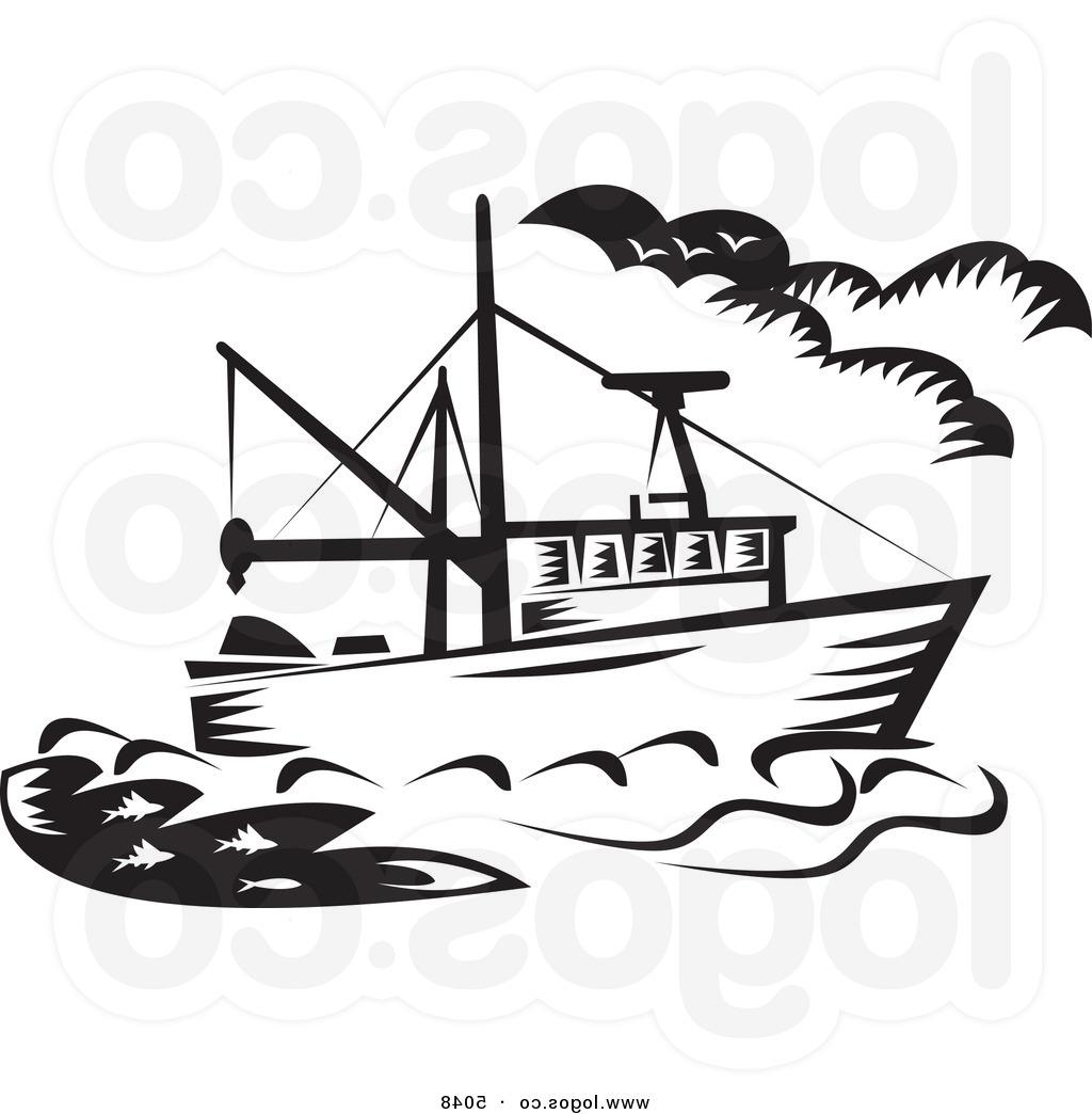 1024x1044 Jon Boat With Fisherman Clip Art